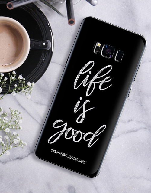 personalised: Personalised Good Life Samsung Cover!