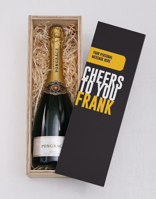bosses-day: Personalised Cheers Printed Crate!