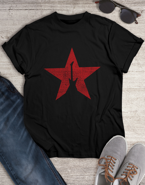 gifts: GuitStar Shirt for Men!