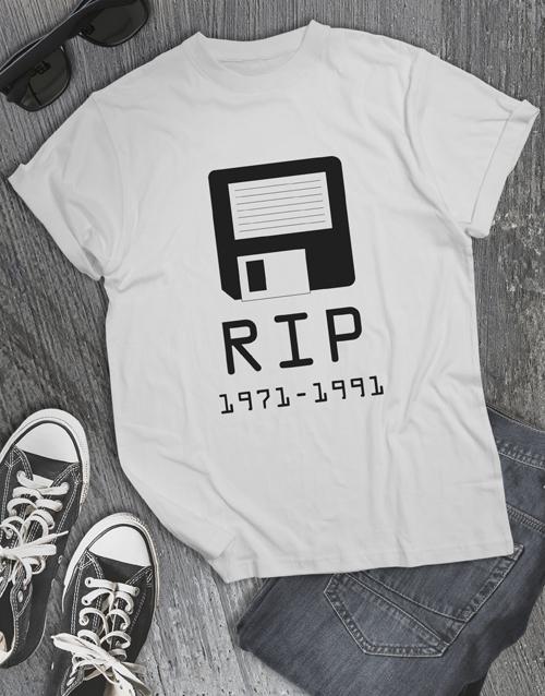 clothing: RIP Floppy Disk Tshirt!