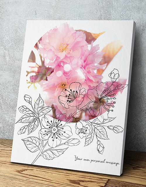 spring-day: Personalised Floral Poster!