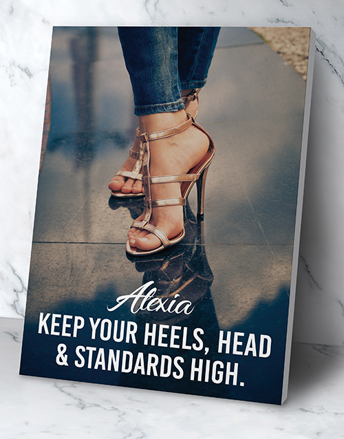 personalised: Personalised Standards High Poster!