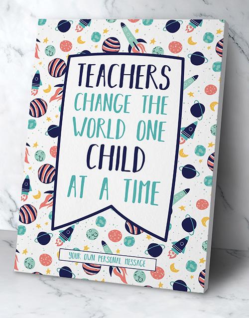 personalised: Personalised Teachers Poster!