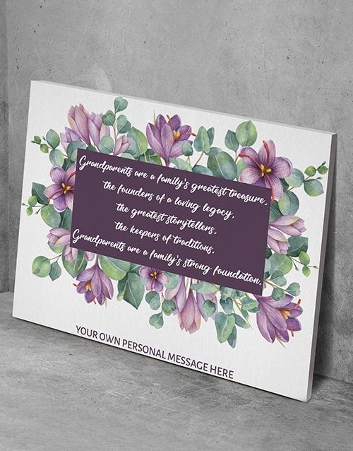 personalised: Personalised Grandparents Wall Art!