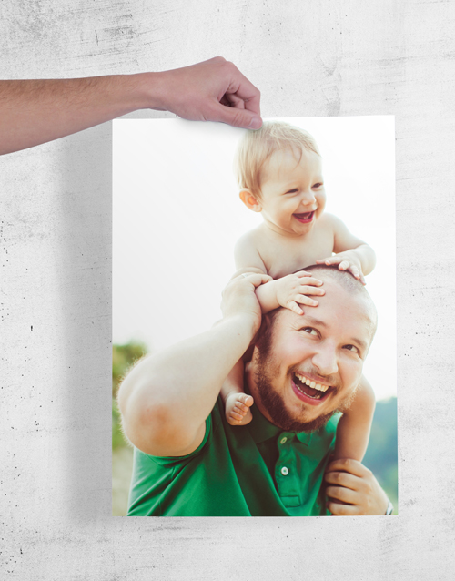 personalised: Personalised Dad & Son Wall Art!