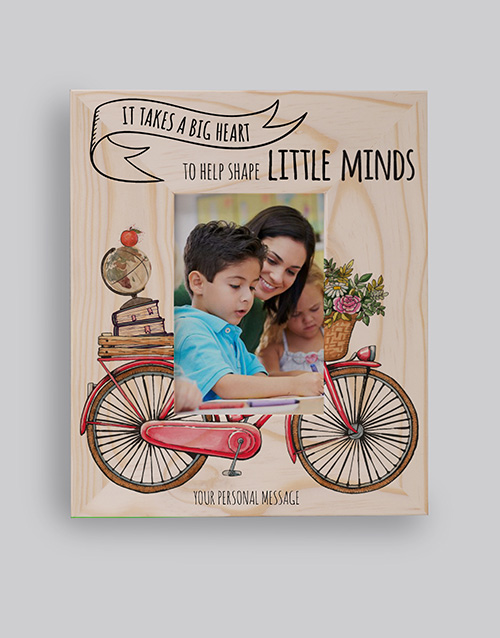 home-decor: Personalised Little Minds Photo Frame!