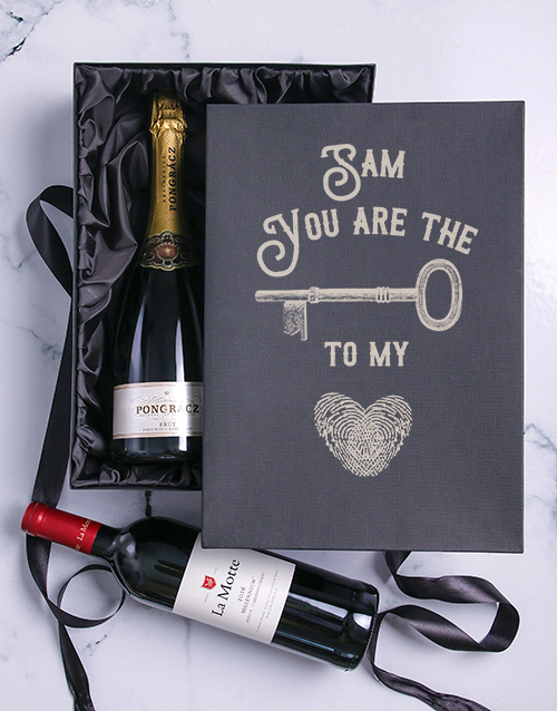 personalised: The Key Personalised  Duo Giftbox!