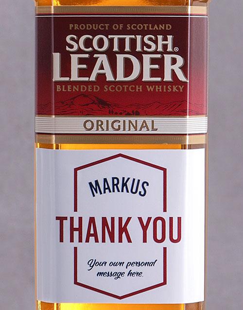 personalised: Personalised Thank You Scottish Leader!