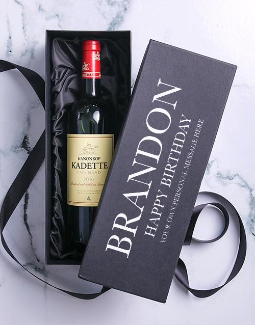 personalised: Personalised Birthday Printed Giftbox!