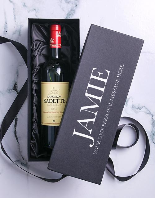 fine-alcohol: Personalised Celebration Printed Giftbox!