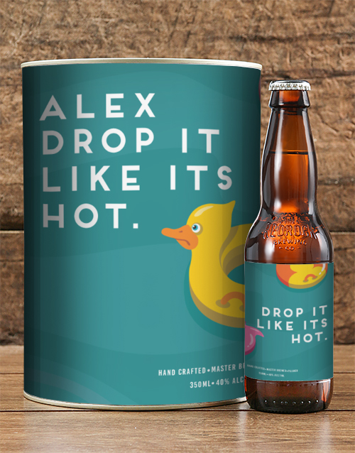 fine-alcohol: Personalised Like Its Hot Craft Beer!