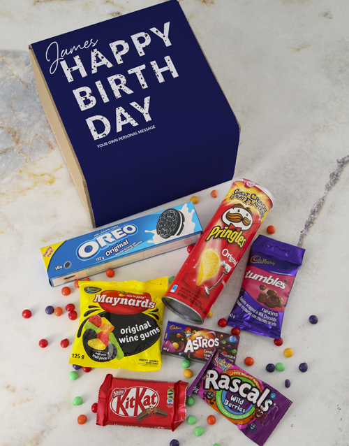 birthday: Personalised Gourmet Birthday Box!