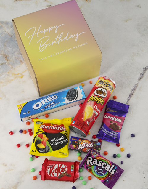 birthday: Personalised Birthday Gourmet Box!