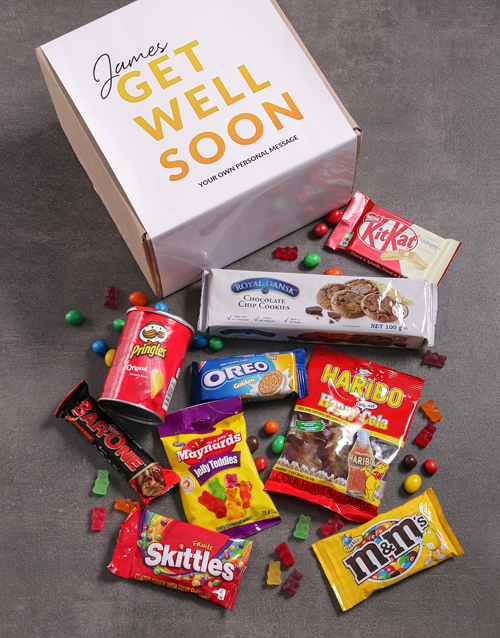 get-well: Personalised Get Well Gourmet Box!