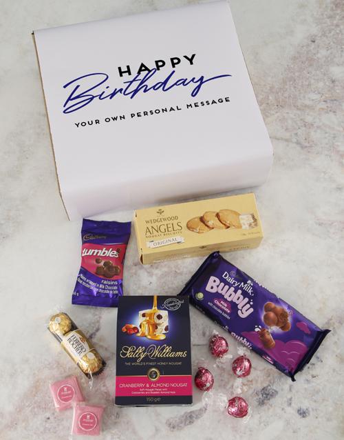 birthday: Personalised Birthday Gourmet Gift!
