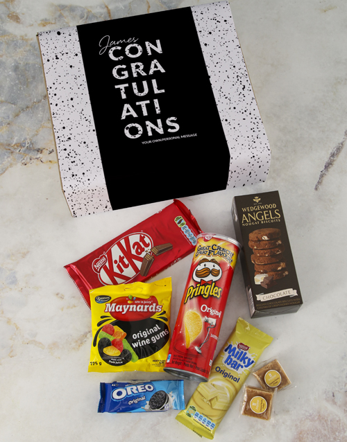 personalised: Personalised Congrats Gourmet Gift!