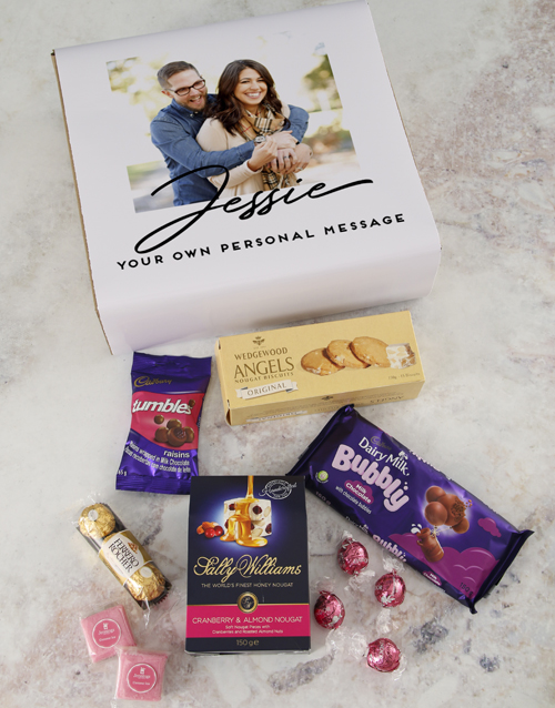 christmas: Personalised Photo Gourmet Gift!
