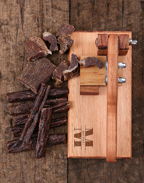 grandparents-day: Personalised Classic Biltong Cutter!