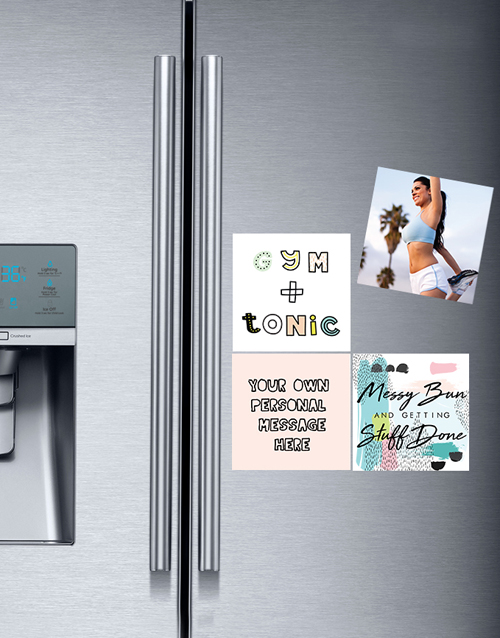 gadgets: Personalised Gym and Tonic Fridge Magnets!