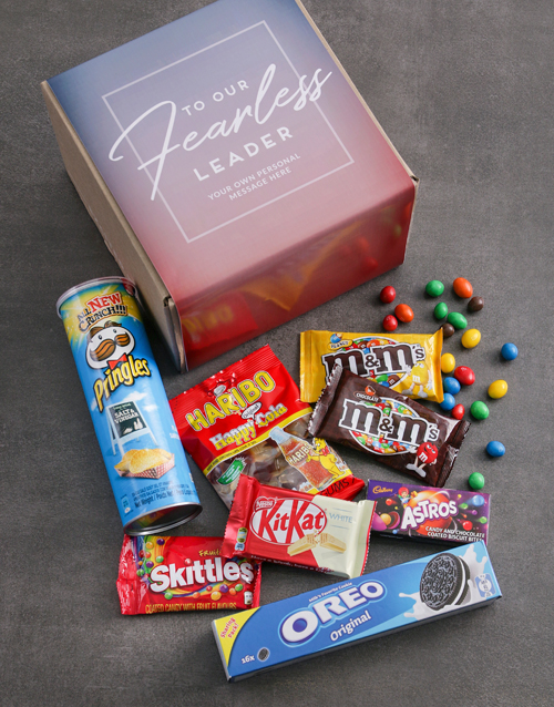 bosses-day: Personalised Fearless Leader Gourmet Box!