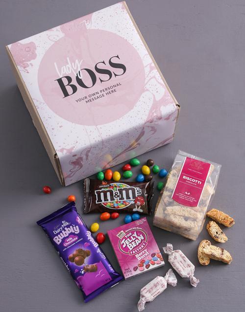 personalised: Personalised Lady Boss Gourmet Box!