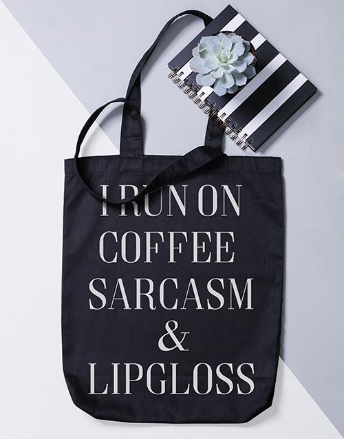 bosses-day: Personalised Run On Tote Bag!