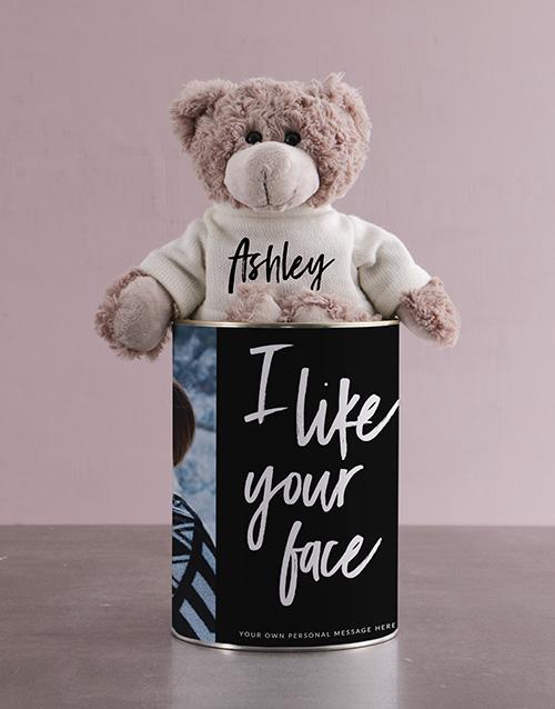 teddy-bears: Teddy in a Photo Tin!