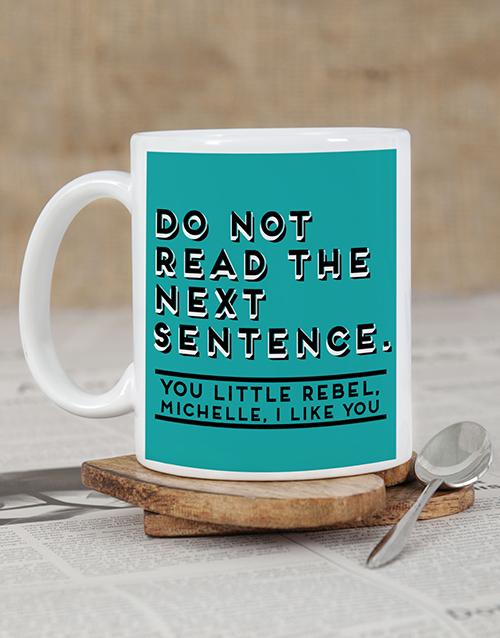 homeware: Personalised Rebel Mug Set!