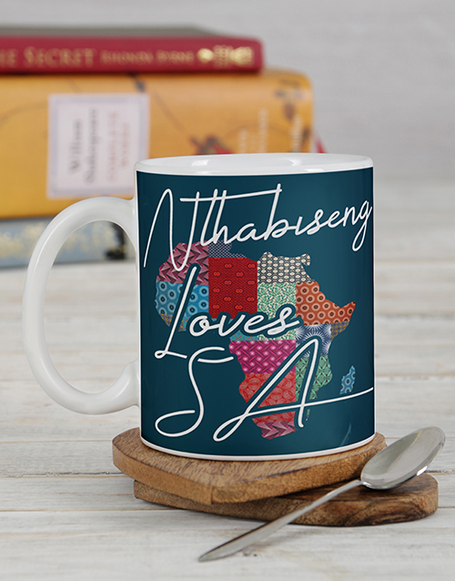 homeware: Personalised African Love Mug Set!