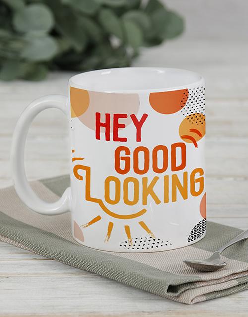 homeware: Personalised Colourful Floral Mug Set!