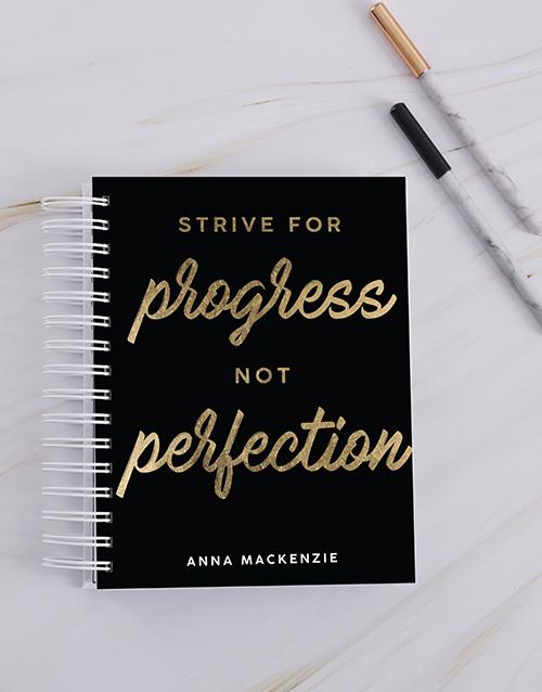 friendship: Personalised Strive For Progress Journal!