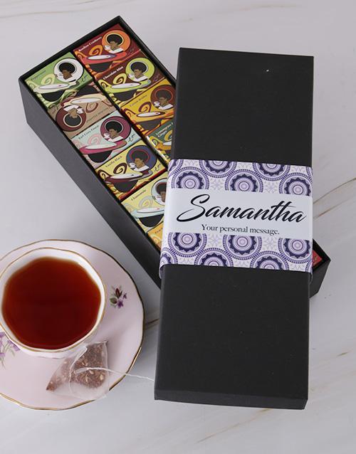 personalised: Personalised Toni Glass Tea Box!