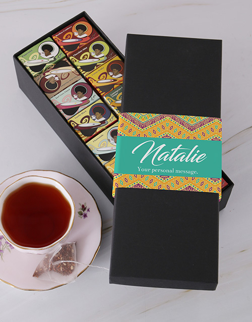 personalised: Personalised Zig Zag Toni Glass Tea!