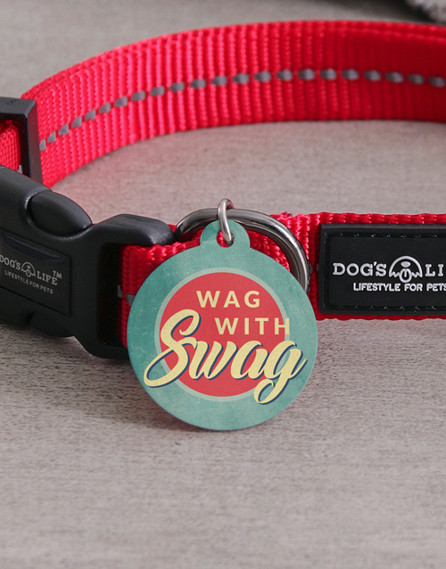 personalised: Personalised Swag ID Tag and Collar!