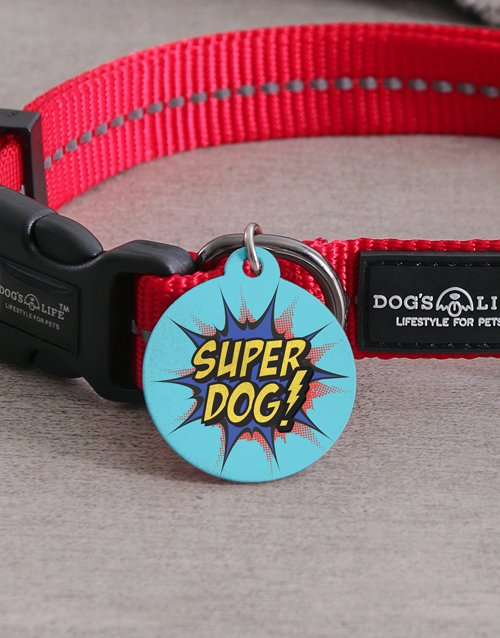 personalised: Personalised Super ID Tag and Collar!