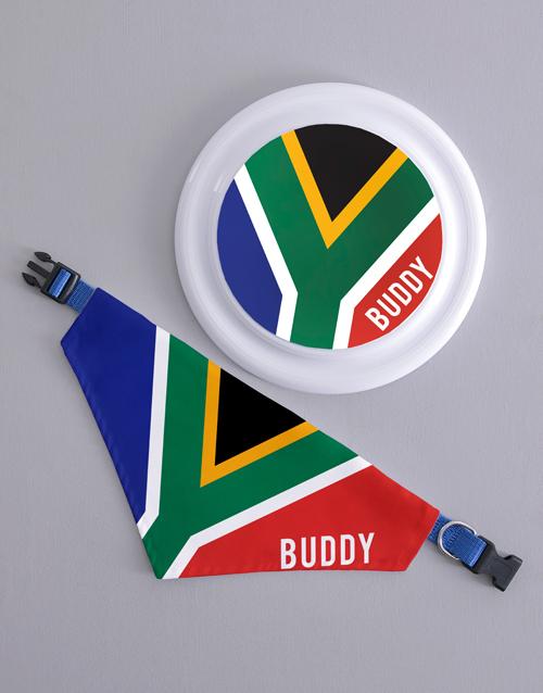 personalised: Personalised SA Frisbee and Bandanna !