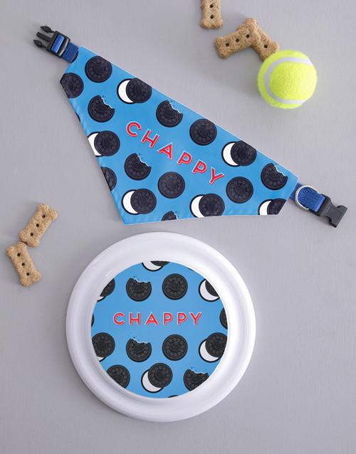 personalised: Personalised Oreo Frisbee and Bandanna!