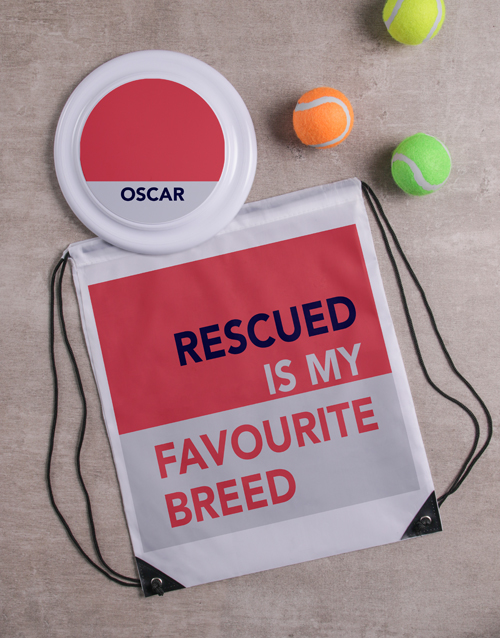 personalised: Personalised Rescued Frisbee and Bag!