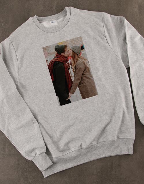 clothing: Personalised Photo Sweater!