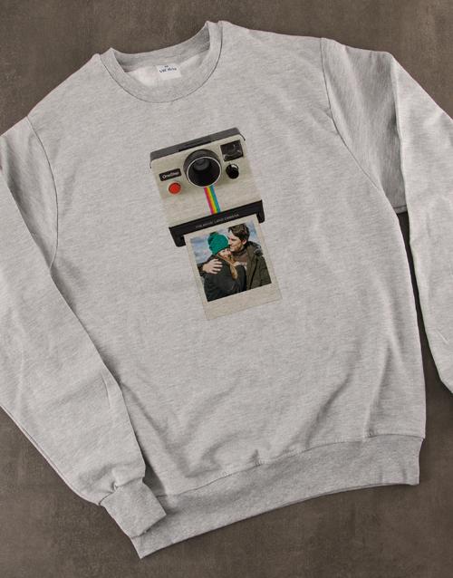 personalised: Personalised Polaroid Sweater!