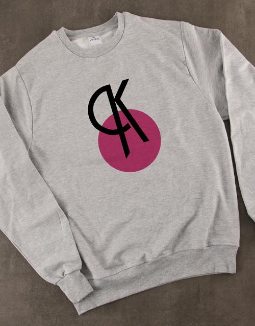 personalised: Personalised Deco Initial Ladies Sweater!