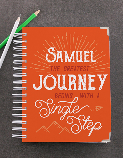 journals: Personalised Single Step Goal Journal!