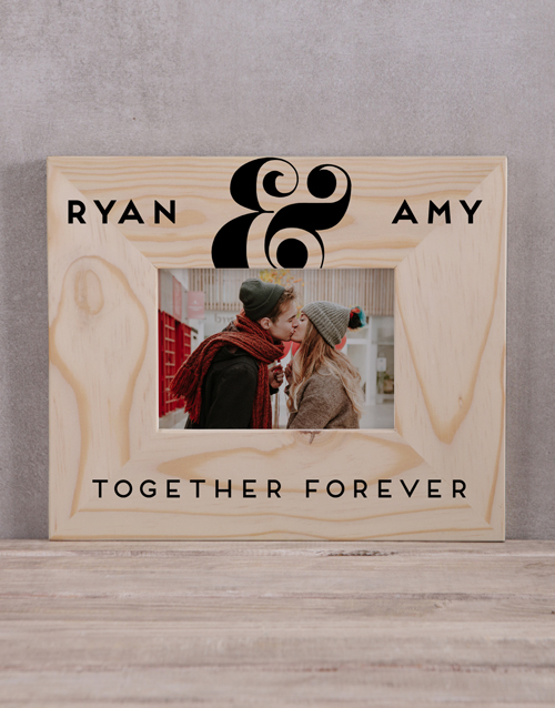 home-decor: Personalised Together Forever Photo Frame!
