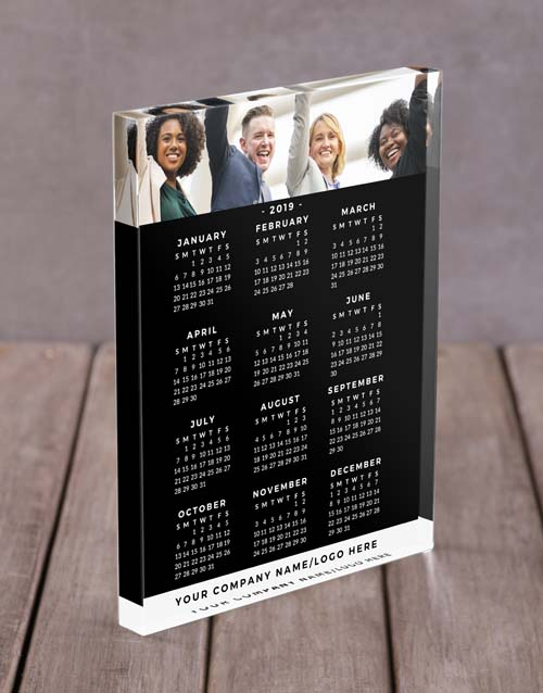 home-decor: Personalised Calendar Acrylic Block!