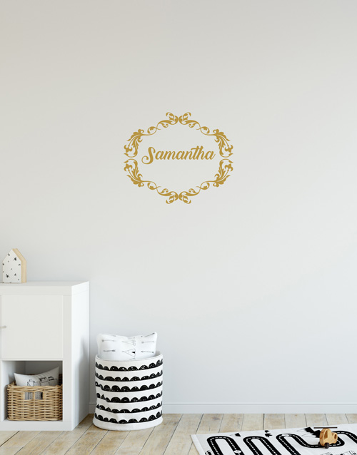 personalised: Personalised Name Wall Vinyl!