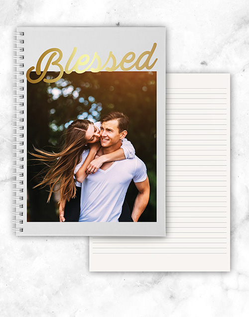 mothers-day: Personalised Photo Blessed Notebook!