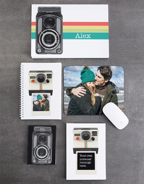 personalised: Personalised Polaroid Noteset!