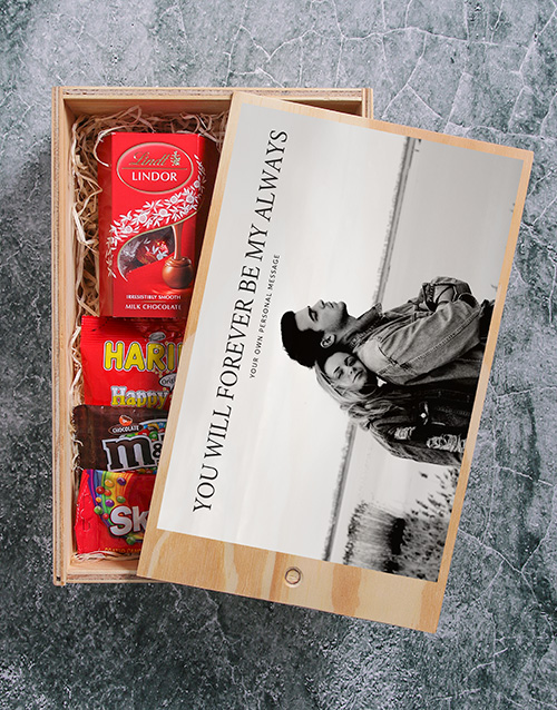 anniversary: Personalised Forever Man Crate!