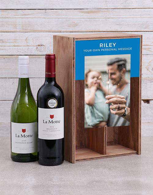 personalised: Personalised La Motte Wine Duo Crate!