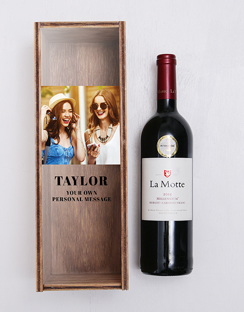bosses-day: Personalised La Motte Wine Crate!